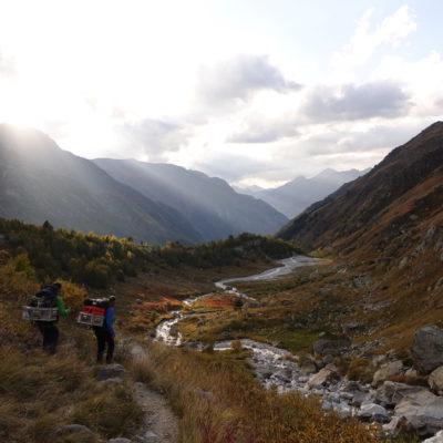 On the march into Adyl Su Valley, Caucasus (Martina Schön)
