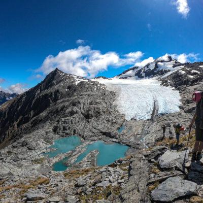 Brewster glacier, Haast Pass, New Zealand (Matteo Tolosano)