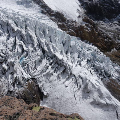 Hermozo glacier, Ecuador (Martina Schön)