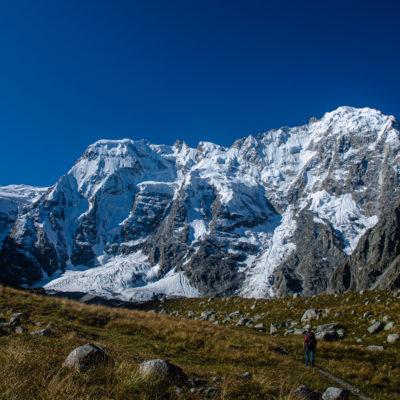 Midjirgi glacier, in Bezengi region, Caucasus (Matteo Tolosano)
